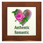 Authentic Romantic Framed Tile