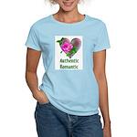 Authentic Romantic Women's Pink T-Shirt