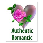Authentic Romantic Small Poster