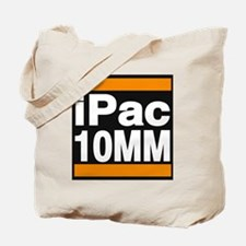 ipac 10mm orange Tote Bag
