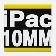 ipac 10mm yellow Tile Coaster
