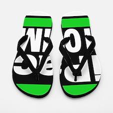 ipac 10mm green Flip Flops