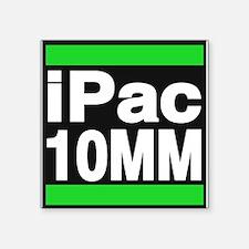ipac 10mm green Sticker