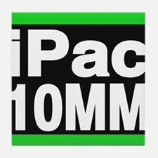 ipac 10mm green Tile Coaster