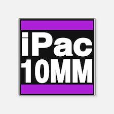 ipac 10mm purple Sticker