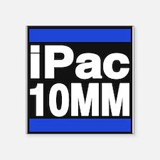 ipac 10mm blue Sticker