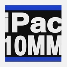 ipac 10mm blue Tile Coaster