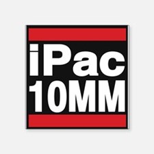 ipac 10mm red Sticker