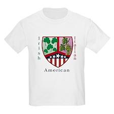 Irish Italian American Kids T-Shirt
