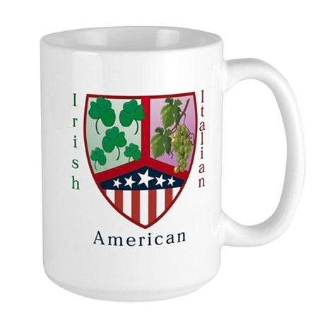 Irish Italian American Large Mug