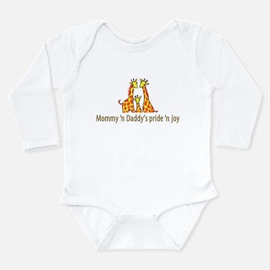 Mommy n Daddys pride n joy Body Suit