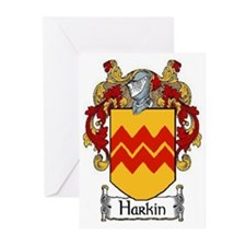 Harkin Coat of Arms Greeting Cards (Pk of 10)