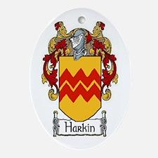 Harkin Coat of Arms Oval Ornament