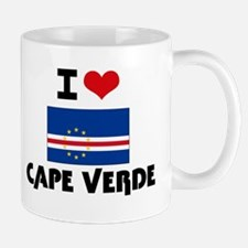I HEART CAPE VERDE FLAG Mug