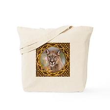 Geometric Cougar Tote Bag