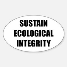 SUSTAIN ECOLOGICAL INTEGRITY BK Decal