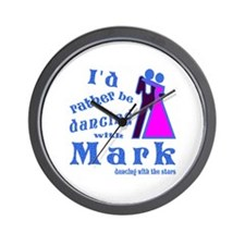 Dancing With Mark Wall Clock