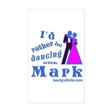 Dancing With Mark Decal