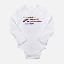 A Star Danced - Colors Long Sleeve Infant Bodysuit