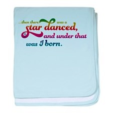 A Star Danced - Colors baby blanket