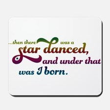 A Star Danced - Colors Mousepad