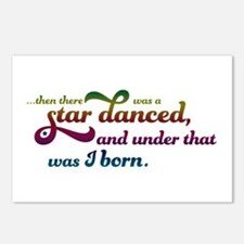 A Star Danced - Colors Postcards (Package of 8)