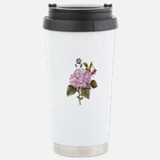 Redoute Bouquet Stainless Steel Travel Mug