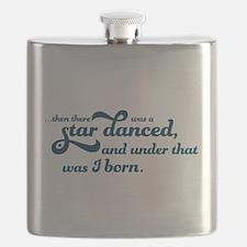 A Star Danced - Blue Flask