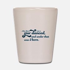 A Star Danced - Blue Shot Glass