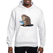 Warm Fuzzy Porcupine Hoodie