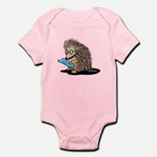 Warm Fuzzy Porcupine Infant Bodysuit