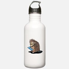 Warm Fuzzy Porcupine Water Bottle