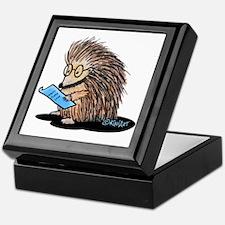 Warm Fuzzy Porcupine Keepsake Box