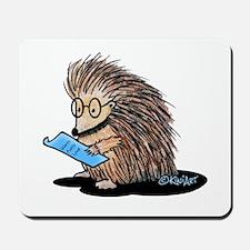 Warm Fuzzy Porcupine Mousepad