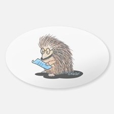 Warm Fuzzy Porcupine Decal