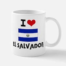 I HEART EL SALVADOR FLAG Mug