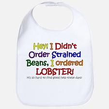 Lobster Fiend Bib