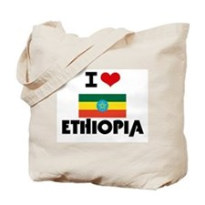 I HEART ETHIOPIA FLAG Tote Bag