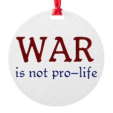 Not Pro-life Ornament