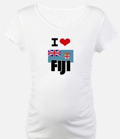 I HEART FIJI FLAG Shirt