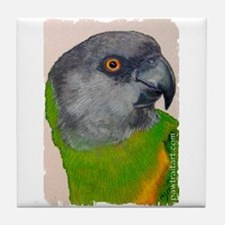 Senegal Parrot Tile Coaster