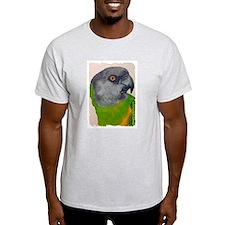 Senegal Parrot Ash Grey T-Shirt