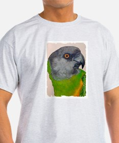 Senegal Parrot Ash Grey T-Shirt
