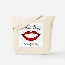 I Kiss Boys (and girls too) Tote Bag