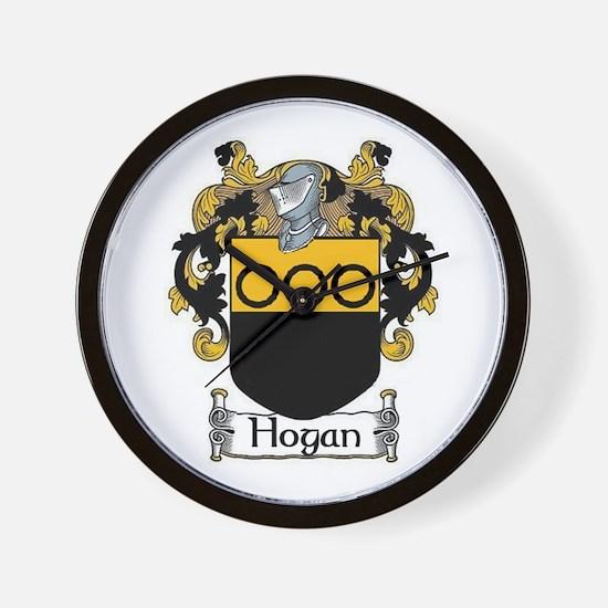 Hogan Coat of Arms Wall Clock