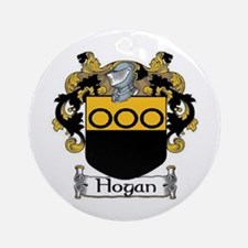 Hogan Coat of Arms Ornament (Round)