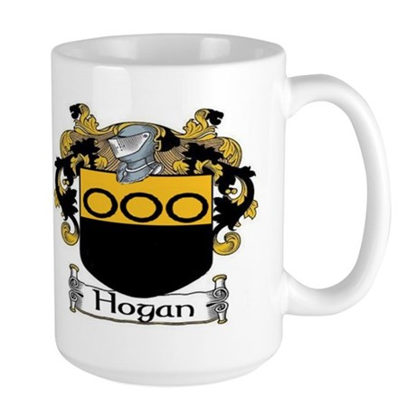 Hogan Coat of Arms Large Mug