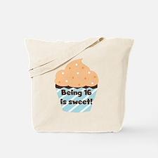 Cupcake Sweet 16 Birthday Tote Bag