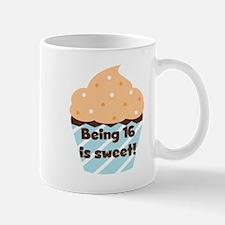 Cupcake Sweet 16 Birthday Mug