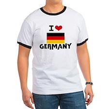 I HEART GERMANY FLAG T-Shirt